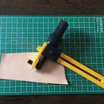 丸く切り抜いたり角を丸くする時に便利なラチェットコンパスカッターを使ってみた。